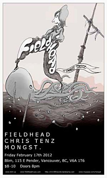 Fieldhead, Chris Tenz & Mongst @ Blim