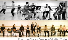 Martha Carter & Microcosmos String Quartet - Speaking In Ligeti @ The Scotiabank Dance Centre