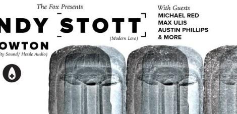 Andy Stott & Kowton @ The Fox Cabaret
